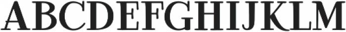 Ambar Serif otf (400) Font LOWERCASE