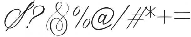 Ambarella otf (400) Font OTHER CHARS