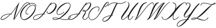 Ambarella otf (400) Font UPPERCASE