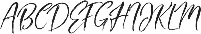 Ambitions Regular otf (400) Font UPPERCASE
