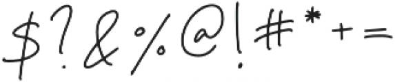 Ambrosia Regular otf (400) Font OTHER CHARS