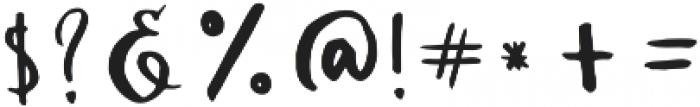 Ambrosia otf (400) Font OTHER CHARS
