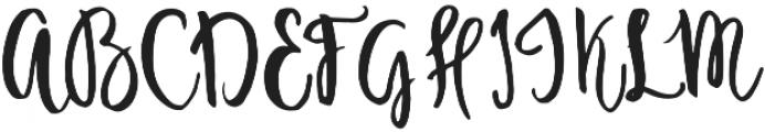 Ambrosia otf (400) Font UPPERCASE