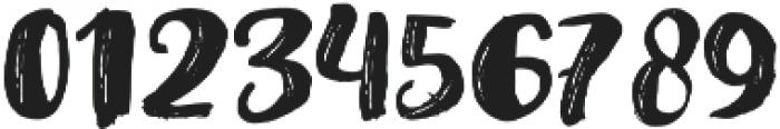 Amel Brush Font Regular otf (400) Font OTHER CHARS