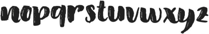 Amel Brush Font Regular otf (400) Font LOWERCASE