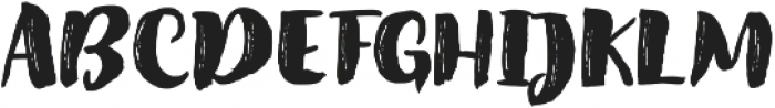 Amel Brush Font Regular ttf (400) Font UPPERCASE
