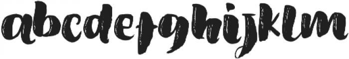 Amel Brush Font Regular ttf (400) Font LOWERCASE