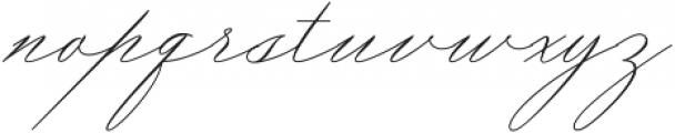 Amelia Giovani ttf (400) Font LOWERCASE