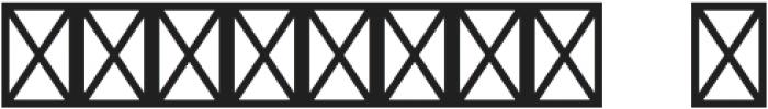 Amelia Ornaments otf (400) Font OTHER CHARS