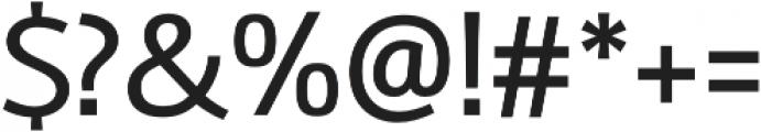 Amelia Regular otf (400) Font OTHER CHARS