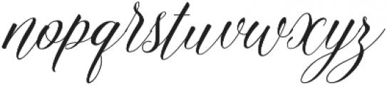 Amelia Script Fine Version ttf (400) Font LOWERCASE