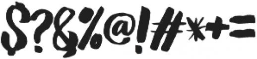 Amelian Script otf (400) Font OTHER CHARS