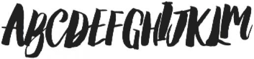Amelian Script otf (400) Font UPPERCASE