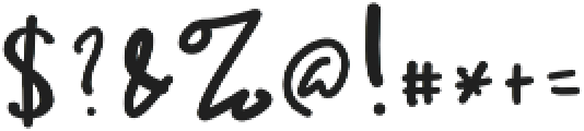 Ameliana Two otf (400) Font OTHER CHARS