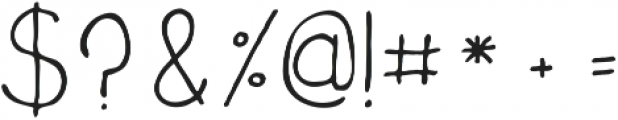 Amely ttf (400) Font OTHER CHARS