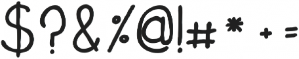 Amely ttf (700) Font OTHER CHARS