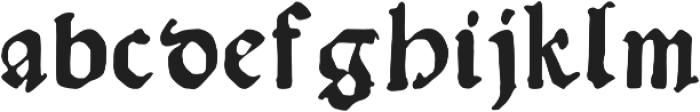 Amerbach883 otf (400) Font LOWERCASE