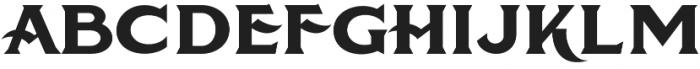American Brewery Regular otf (400) Font UPPERCASE