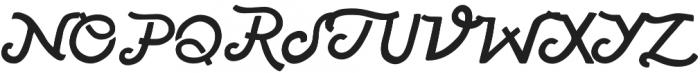 American Forkball otf (400) Font UPPERCASE