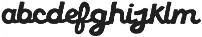 American Forkball otf (400) Font LOWERCASE