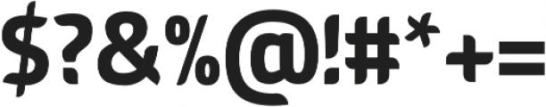 American Fox Regular otf (400) Font OTHER CHARS