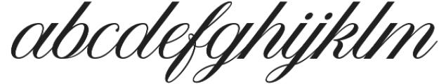 American Oak Script otf (400) Font LOWERCASE