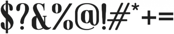 American Oak Serif otf (400) Font OTHER CHARS