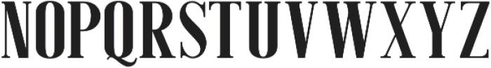 American Oak Serif otf (400) Font UPPERCASE