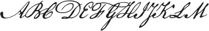 American Scribe otf (400) Font UPPERCASE