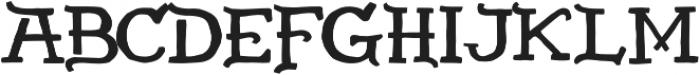 Americano Regular otf (400) Font LOWERCASE