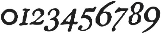 Americanus Italics Regular otf (400) Font OTHER CHARS