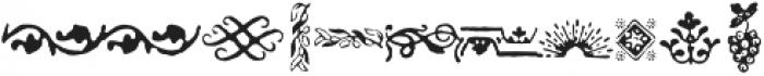 Americanus Ornaments Regular otf (400) Font OTHER CHARS