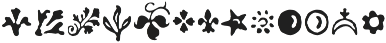 Americanus Ornaments Regular otf (400) Font UPPERCASE