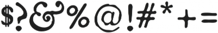 Americanus Regular otf (400) Font OTHER CHARS