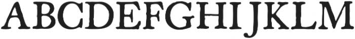 Americanus Regular otf (400) Font UPPERCASE