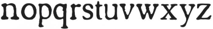 Americanus Regular otf (400) Font LOWERCASE