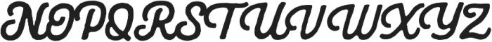 Americus Script Regular otf (400) Font UPPERCASE