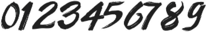 AmeryBrush otf (400) Font OTHER CHARS