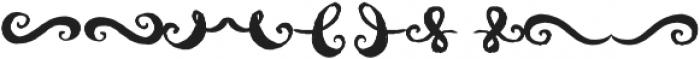 AmeryBrushExtras otf (400) Font OTHER CHARS