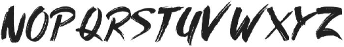 AmeryBrushExtras otf (400) Font LOWERCASE