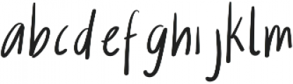 Amethyst And Opal Regular otf (400) Font LOWERCASE