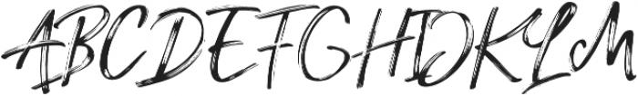 Amethyst Regular otf (400) Font UPPERCASE