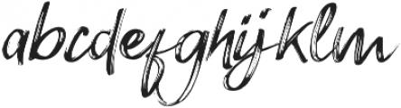 Amethyst Regular otf (400) Font LOWERCASE
