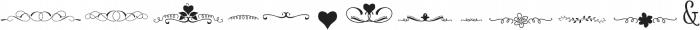 Amethyst dingbats ttf (400) Font LOWERCASE