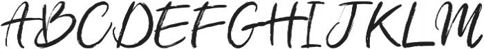 Amethyst otf (400) Font UPPERCASE