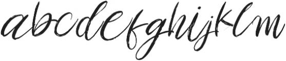 Amethyst otf (400) Font LOWERCASE