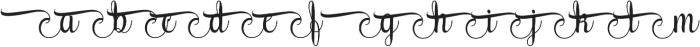 AmethystB ttf (400) Font LOWERCASE