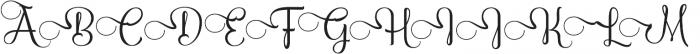 AmethystCapSwash ttf (400) Font LOWERCASE