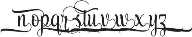 AmethystE ttf (400) Font LOWERCASE
