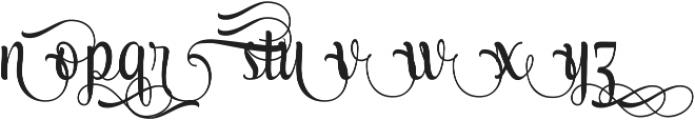 AmethystF ttf (400) Font LOWERCASE